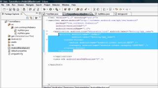 Android Tutorial & Lessons 8_ Get our app running with the while loop