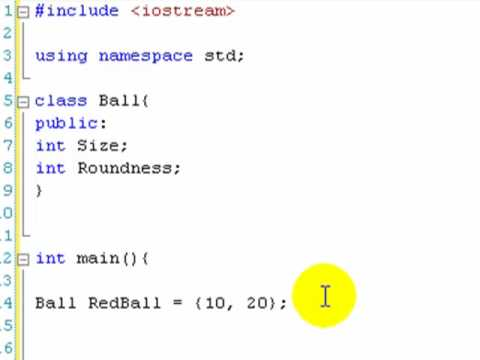 C++ Tutorial 13: Simple Classes