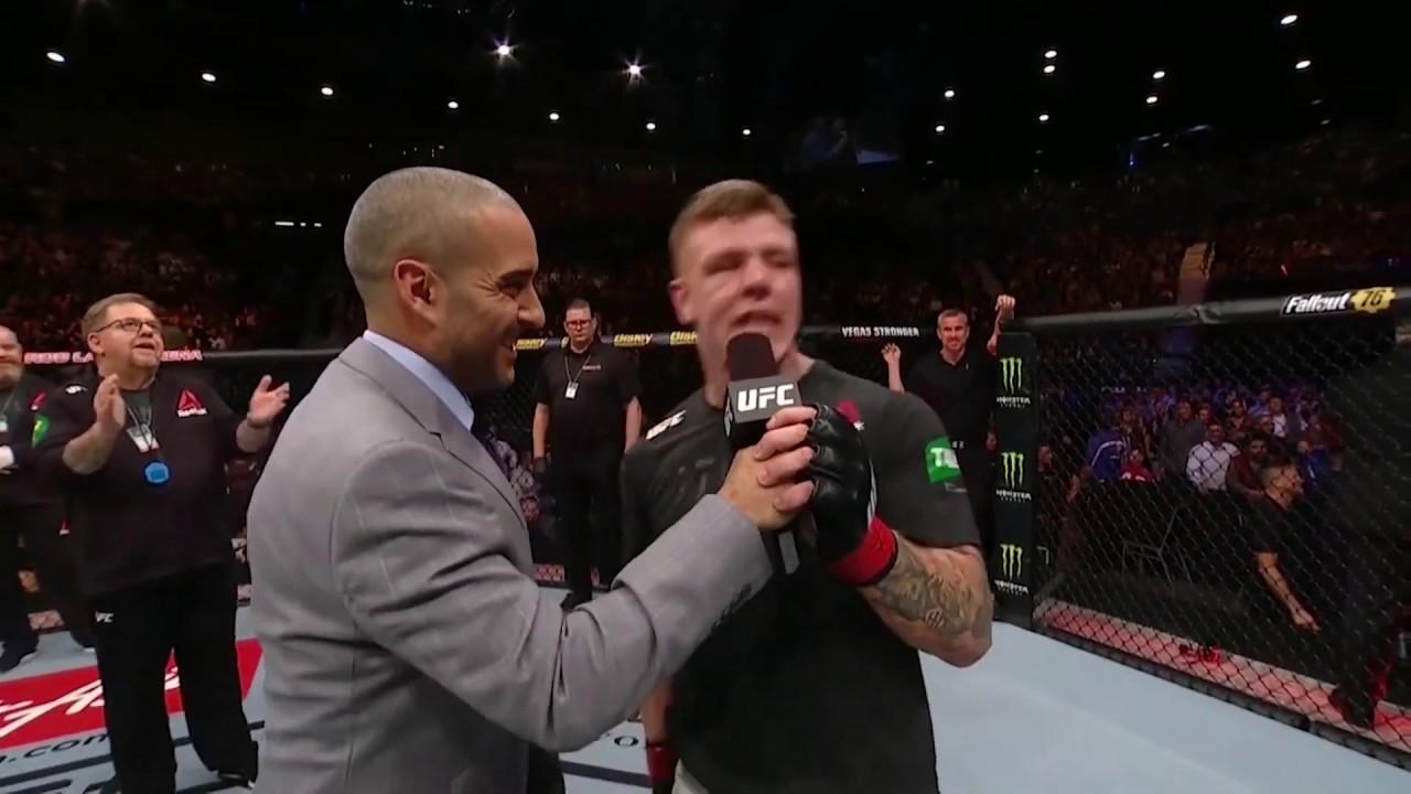 UFC 234: Джимми Крут - Слова после боя