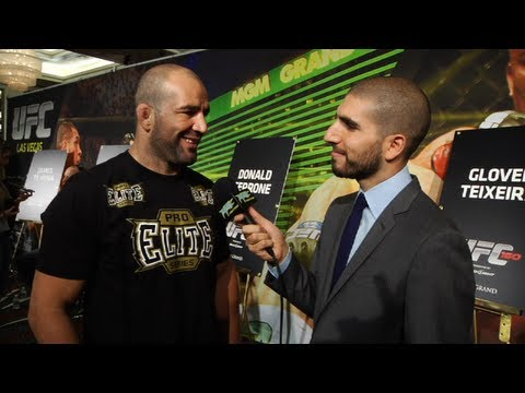 UFC 160: Glover Teixeira Says Why He Starred in Gun Control Video