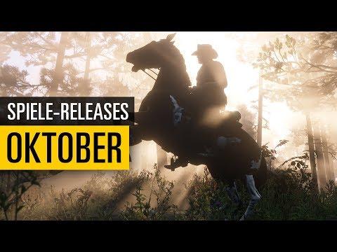 Spiele-Releases im Oktober 2018  Für PC PS4 Xbox One und Nintendo Switch