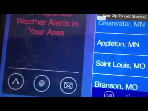 Weather radio Canada required weekly test EAS 67