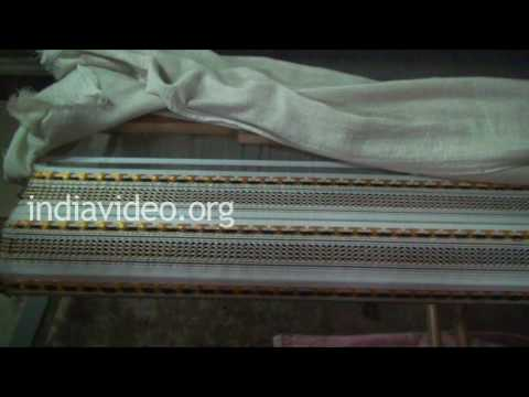 Weaving Silk Saree in Sualkuchi, Assam