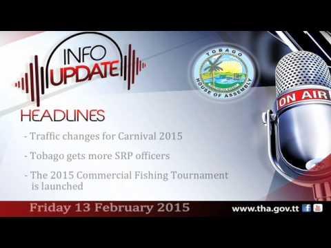 InfoUpdate - Friday 13 February, 2015