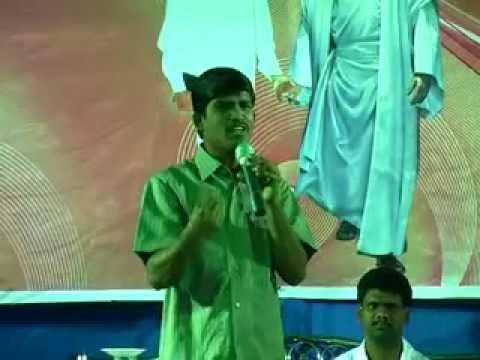 Telugu christian  messege  healing love of jesus 2014 bro.shyam...