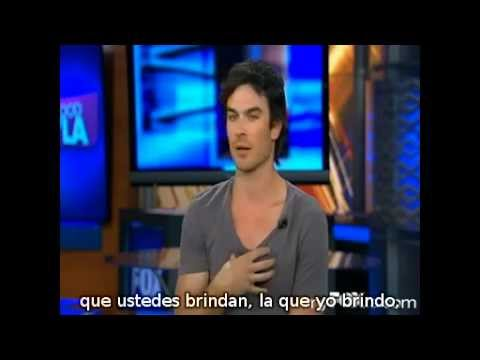 Ian Somerhalder in Good Day LA [SUB ES]