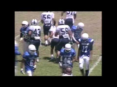 Puni Samuelu #7 - Samoana High School - Football Highlights 2013-2014 Season