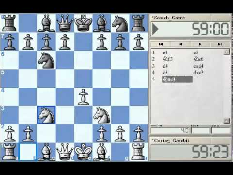 GM Alterman's Gambit Guide - Goring Gambit Part 1 at Chessclub.com