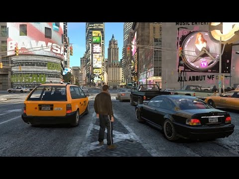 GTA IV - iCEnhancer 3.0 Gameplay