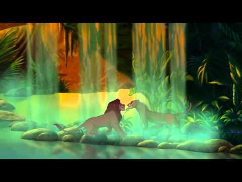 映画『ライオン・キング/ディズニー デジタル 3D』愛を感じてシーン