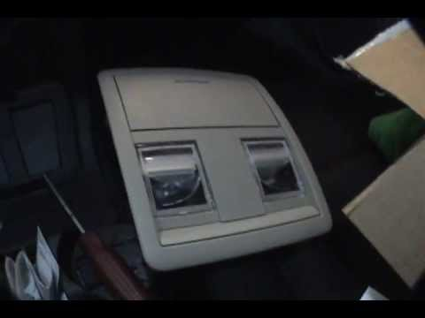 Over Head Console Installation 2006 Dodge Charger Youtube