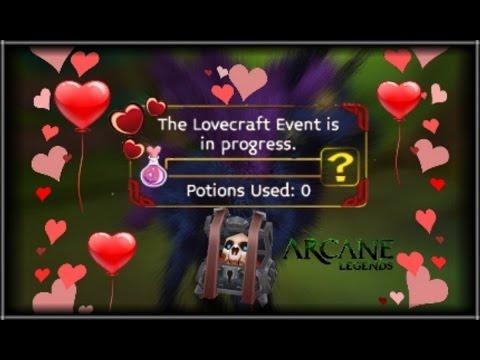 Arcane Legends - Lovecraft Event 2016 !!!