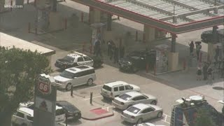 Road rage driver who shot baby was wearing security uniform, HPD says
