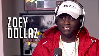 Zoey Dollaz Talks Getting Remixed By Diddy, Liking R&B More Than Hip Hop + Bars!