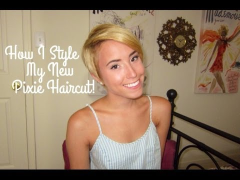 How I Style My New Pixie Haircut!