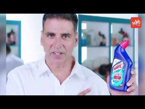 Akshay Kumar Becomes Harpic's Brand Ambassador | Will Now Be  Every House Clean | YOYO TV Hindi