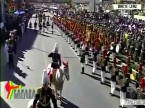 Parada militar - Bolivia 2014 aniversario de las FF. AA Parte5