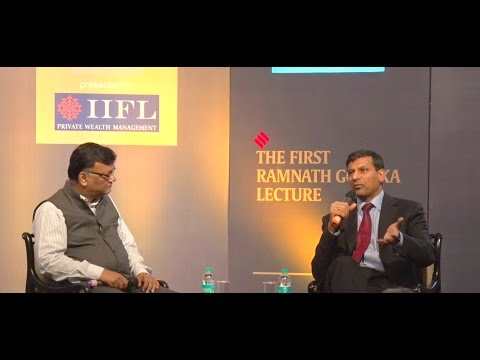 Q&A With RBI Governor Dr Raghuram Rajan At RNG Lecture