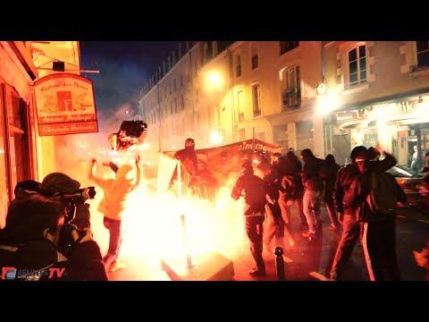 Rennes : soirée de guerilla urbaine antifasciste contre un meeting du...