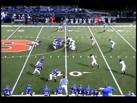 Brad Speet - 2011 Football Highlights - Senior Season - Saugatuck High School
