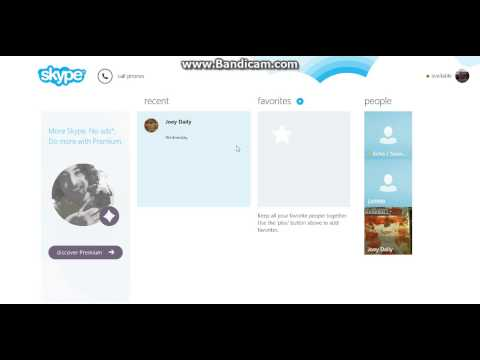 How To add a Contact To Skype-On Windows 8