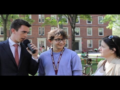 Harvard Freshman Move-In 2014