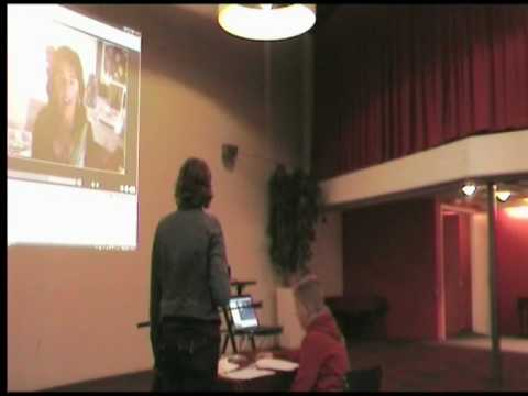 Skypen met Anna van Praag Video