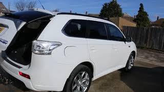 Mitsubishi Outlander 2.0 PHEV Hybrid GX4h Auto AWD 4x4 WU15 LTV