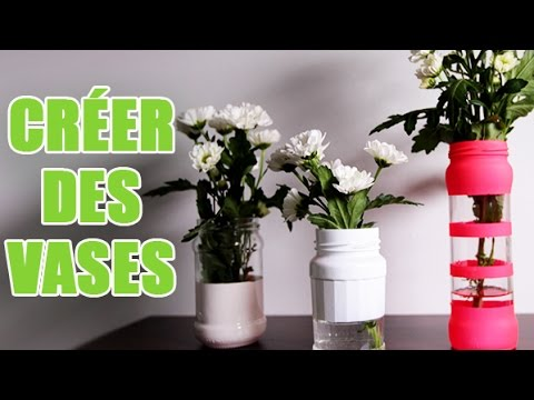 diy customiser ses bocaux pour en faire des vases originaux avec youmakefashion youtube. Black Bedroom Furniture Sets. Home Design Ideas