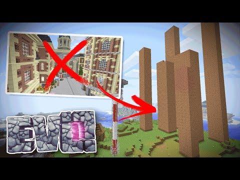 NEW EVO DOWNTOWN - Minecraft Evolution SMP #63