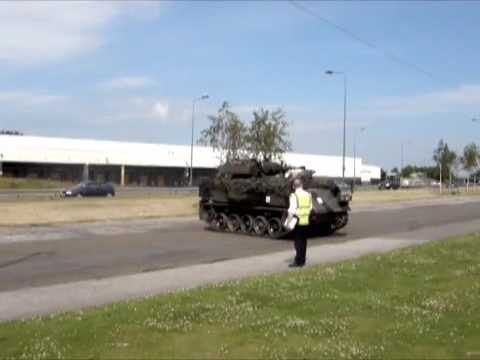 Tank Driving Scotland - Driving Test 3 -  3 Point turn