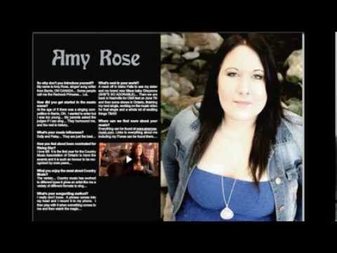 Interview with Country Music Vocalist Amy Rose: Canada (rev) - YTYR Radio