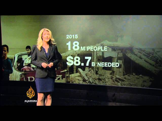 UN: up to $9bn needed for basic help of Syrian civilians