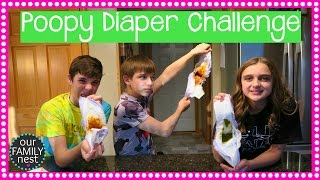 THE POOPY DIAPER CHALLENGE