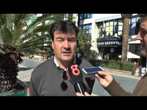 Rafael Escobar en previa Balona-Córdoba B (07-11-14)