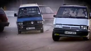 Historic People Carrier Racing - Top Gear - BBC