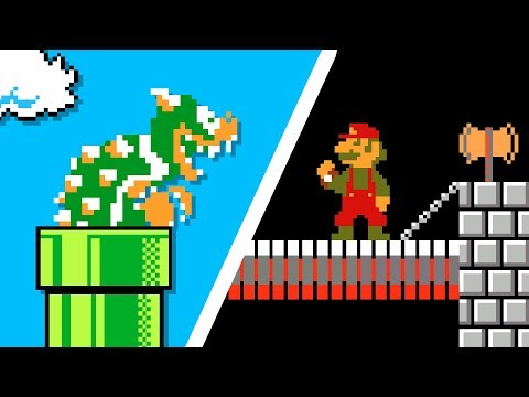 If Mario and Bowser switched places