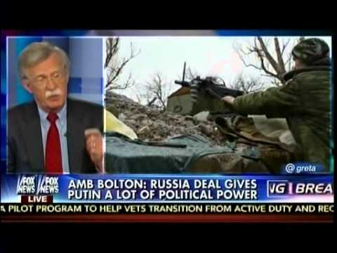 Amb Bolton: Russia Deal Gives Putin A Lot Of Political Power - On The Record
