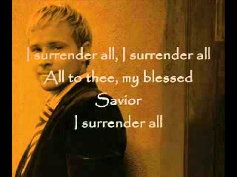 Brian Littrell - I Surrender All.flv video