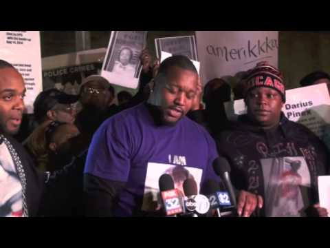 Families of Those Killed by Chicago Police Speak Out at CPD Headquarters