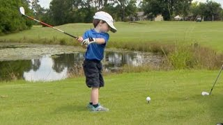 Download Song Is This 3-Year-Old Golf Prodigy the Next Tiger Woods? | Nightline | ABC News Free StafaMp3