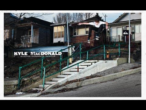 Kyle Macdonald / Quiksilver Canada Skateboarding