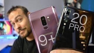 Huawei P20 Pro vs Samsung Galaxy S9 Plus   ¿Cuál comprar?