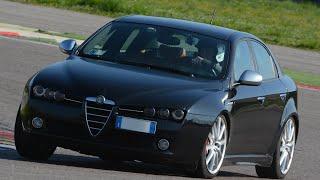 Alfa Romeo 159 TBi onboard a Franciacorta
