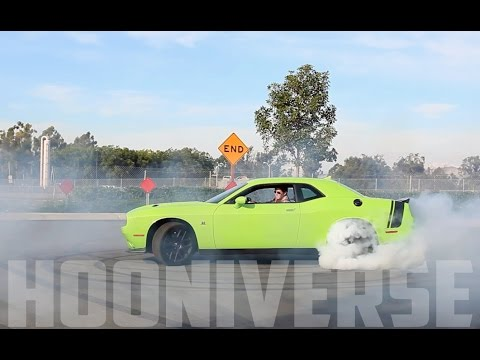Dodge Challenger Scat Pack: A Half-price Hellcat video