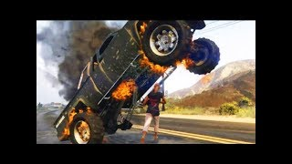 GTA 5 - Трюки, Аварии и Приколы! [#1]