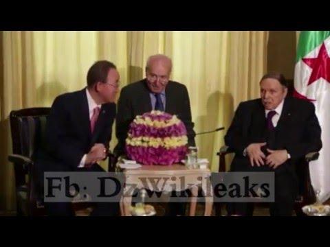 Nouvelle video choquante de Bouteflika ( Avec Ban Ki Moon)