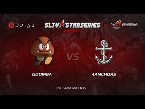 Goomba vs 4Anchors , SLTV Europe Season 11, Day 23, Game 2