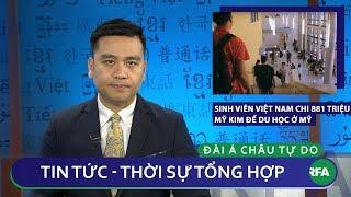 Tin nóng 24h | Sinh viên Việt Nam chi 881 triệu USD du học ở Mỹ