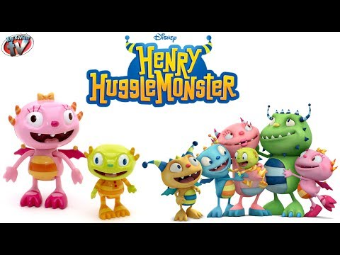Disney Junior Henry HuggleMonster: Summer & Ivor Figures Twin Pack Toy Review. Golden Bear